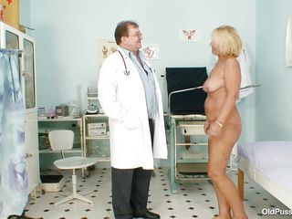 blonde body czech doctor