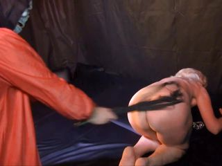 ass bdsm blonde bondage