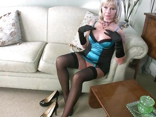 anilos aroused blonde cathy