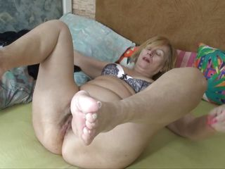 alone blonde dildo emmy