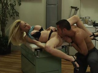 blonde blowjob charley chase