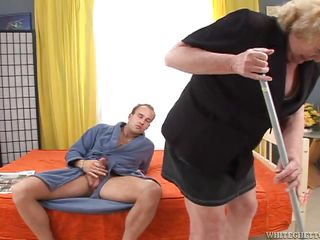 alice bbw blonde blowjob