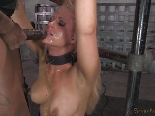 bdsm big blonde broken