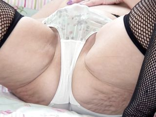 bbw bed fishnet has