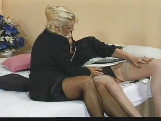 blonde busty dildo fingering