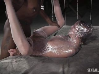bdsm big black bondage