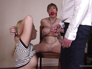 ball bdsm blonde bondage