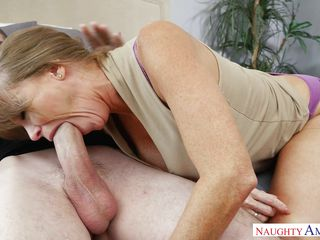 america big blonde blowjob
