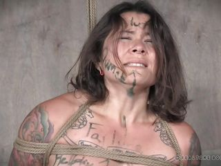 bdsm before bondage brunette