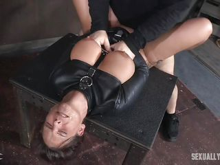bdsm broken brunette busty