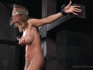 bdsm big blindfolded bondage