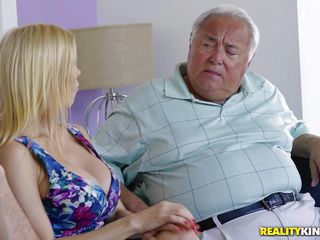 alexis big blonde blowjob