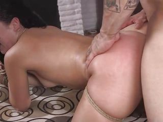 anal ball bdsm behind